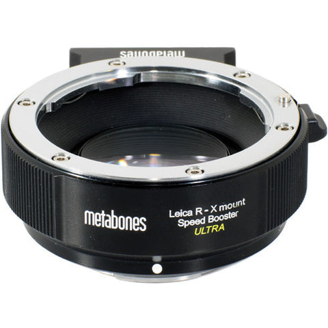 Adapter - Speed Booster adapter- Leica R to X-Mount ULTRA (MB_SPLR-X-BM2) - Vizcom Technologies - 1