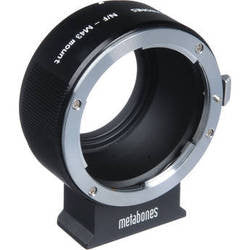 Adapter - Metabones Nikon F to Micro 4/3 (MB_NF-m43-BM2) - Vizcom Technologies - 1