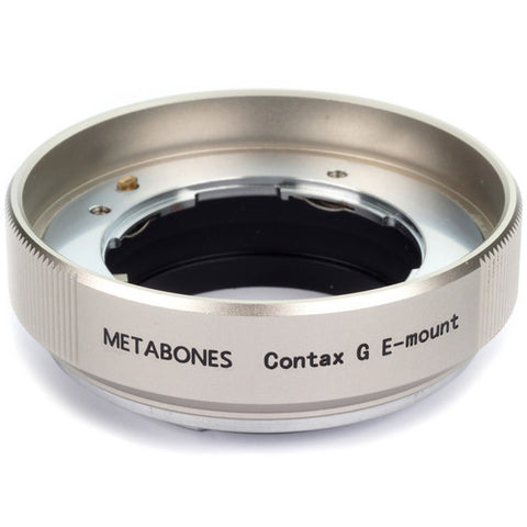 Adapter - Metabones ContaxG to E-mount (Golden) (MB_CG-E-GD2) - Vizcom Technologies - 1