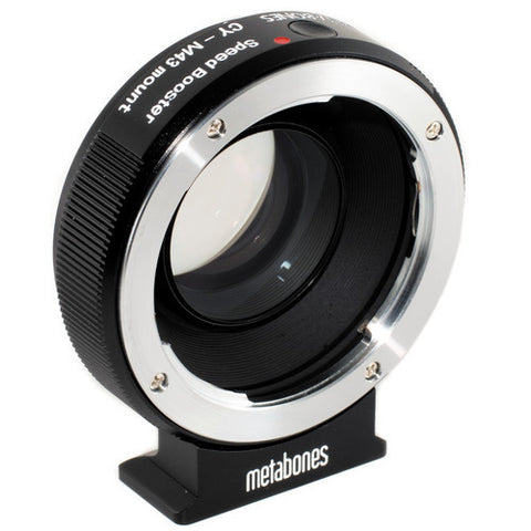 Adapter - Metabones Speed Booster Adapter- Contax Yashica to Micro 4/3 (MB_SPCY-m43-BM1) - Vizcom Technologies - 1