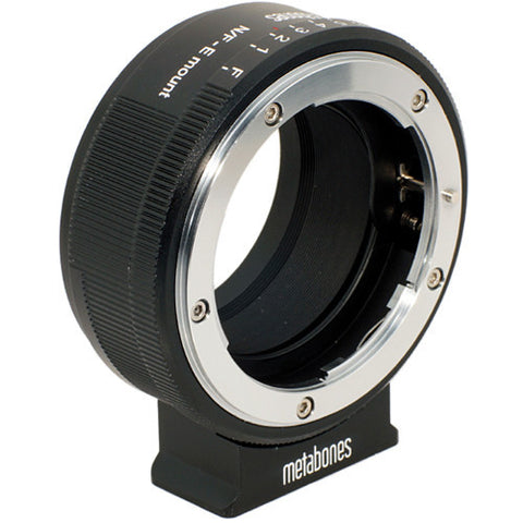 Adapter - Metabones Nikon G to E-Mount (MB_NFG-E-BM1) - Vizcom Technologies - 1