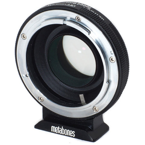 Adapter - Metabones Speed Booster Adapter- Canon FD to Micro 4/3 (MB_SPFD-m43-BM1) - Vizcom Technologies - 1