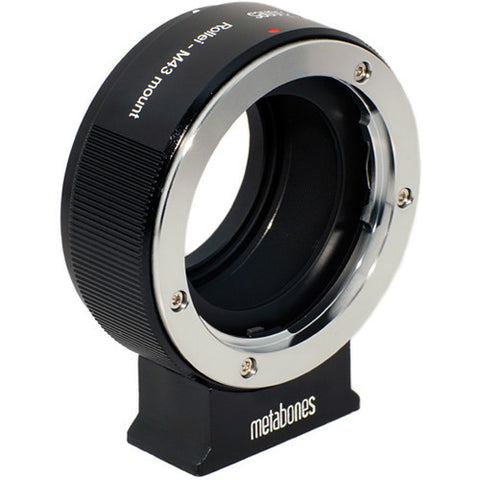 Adapter - Metabones ROLLEI QBM to Micro 4/3 (Black Matt) (MB_ROLLEI-m43-BM1) - Vizcom Technologies - 1