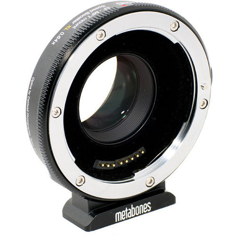 Adapter - Metabones Canon EF to Micro FourThirds T Speed Booster XL 0.64x (Black Matt) (MB_SPEF-M43-BT3) - Vizcom Technologies - 1