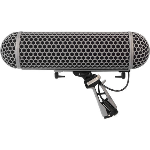 Microphone Accessory - Rode			 Blimp Windshield and Rycote Shock Mount Suspension System for Shotgun Microphones - Vizcom Technologies - 1