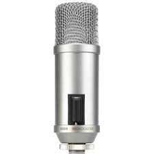 Microphone - Broadcaster End-Address Broadcast Condenser Microphone - Vizcom Technologies