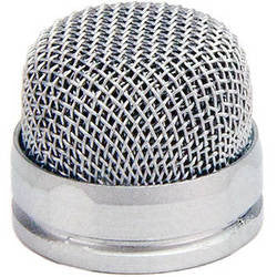 Microphone Accessory - Rode			 Custom Pin-Head Replacement Unpainted Mesh Head for the PinMic (Silver) - Vizcom Technologies