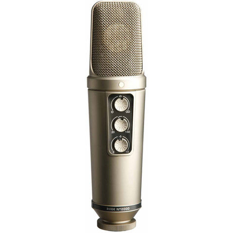 Microphone - Rode			 NT2000 Variable Pattern Studio Condenser Microphone - Vizcom Technologies - 1