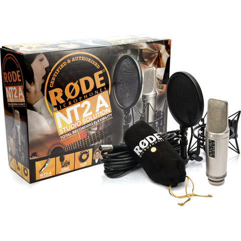 Microphone - Rode			 NT2-A Studio Solution Package - Vizcom Technologies - 1