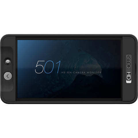 Monitor - SmallHD 501 HDMI On-Camera Monitor with 3D LUT Support + Free Hardcase - Vizcom Technologies - 1