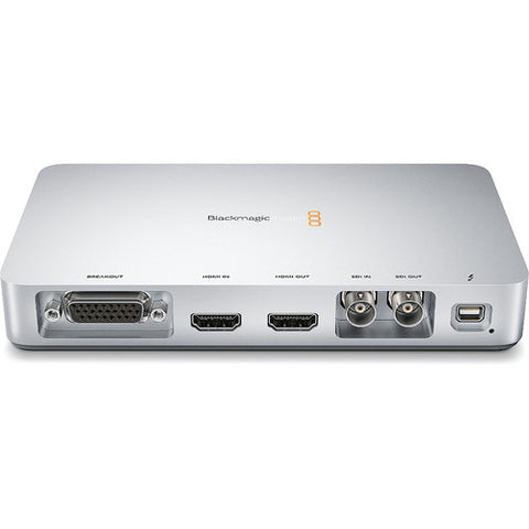 Thunderbolt - Blackmagic Ultrastudio Express - Vizcom Technologies - 1