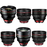 Lens - Canon EF Cinema Prime Lens Kit (14, 24, 35, 50, 85, 135mm) - Vizcom Technologies - 1