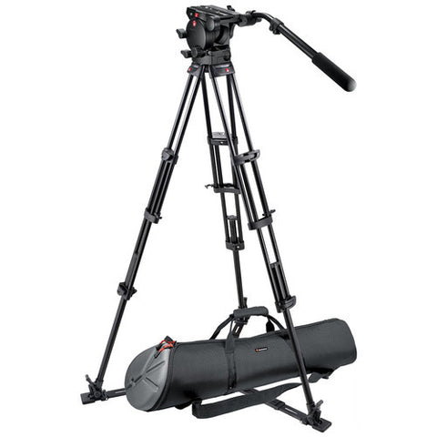 Tripod - Manfrotto 526,545GBK Professional Video Tripod System with 526 Head - Vizcom Technologies - 1