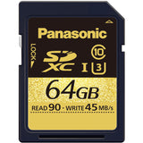 Media - Panasonic 64GB SDXC UHS-I Card, UHS Speed Class 3 (U3) for 4K recording on the GH4 - Vizcom Technologies