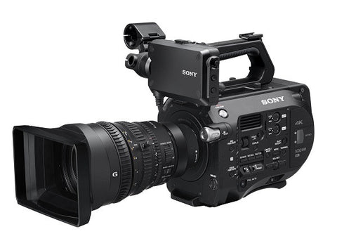 Professional Camcorder - Sony PXWFS7K 4K XDCAM Super35 Camcorder with 28-135mm Sony F4 G Lens - Vizcom Technologies - 1