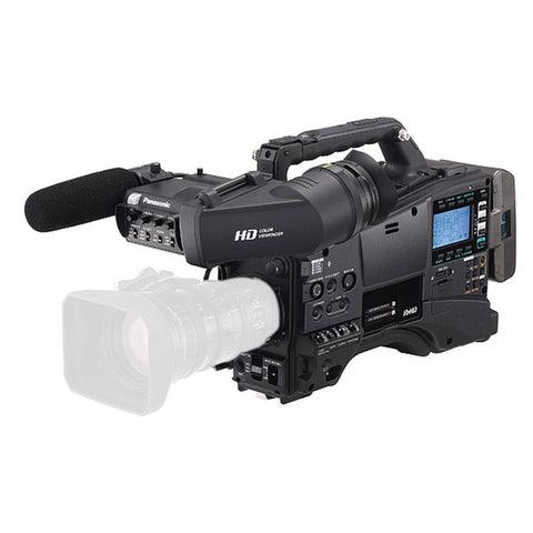 Professional Camcorder - Panasonic AG-HPX610PJH Camcorder with AG-CVF15 Viewfinder (Body Only) - Vizcom Technologies - 1