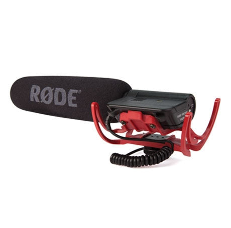 Rode VideoMic R with Rycote Lyre Suspension Mount