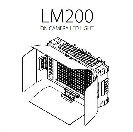 Lighting - Cineroid LM200 Camera Mountable Vari-Colour LED Light - Vizcom Technologies