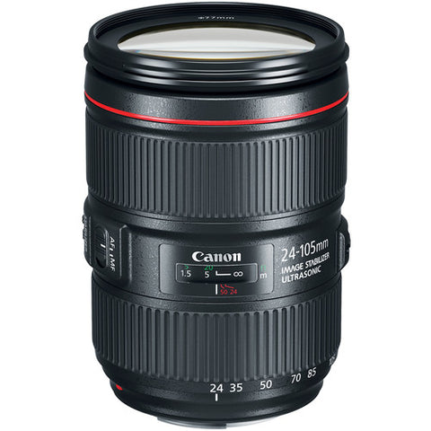 Canon L series 24-105mm F4 IS II USM Lens - Version 2
