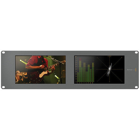 Monitoring - Blackmagic SmartScope Duo 4K - Vizcom Technologies - 1