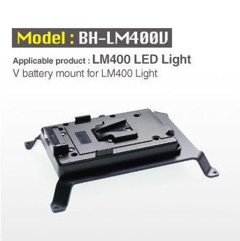Lighting - Cineroid V battery mount for LM400 Light - Vizcom Technologies