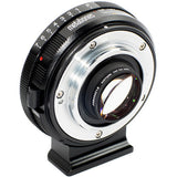 Adapter - Metabones Nikon G to Micro FourThirds Speed Booster XL 0.64x (Black Matt) (MB_SPNFG-M43-BM2) - Vizcom Technologies - 2