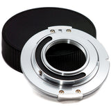 Adapter - Metabones C mount to Micro 4/3 (Chrome) - Ver 3 (MB_C-m43-CH3) - Vizcom Technologies - 3