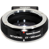 Adapter - Metabones Speed Booster Adapter- Contax Yashica to Micro 4/3 (MB_SPCY-m43-BM1) - Vizcom Technologies - 3