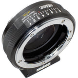 Adapter - Metabones Nikon G to Emount Speed Booster ULTRA 0.71x (Black Matt) (MB_SPNFG-E-BM2) - Vizcom Technologies - 1