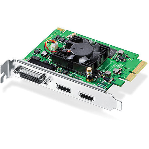 PCIe - Blackmagic Intensity Pro 4K (requires 4 lane PCIE) - Vizcom Technologies - 1