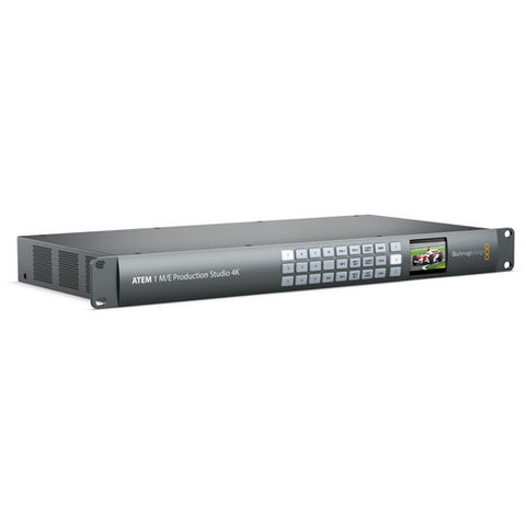 Vision Switcher - Blackmagic ATEM 1 M/E Production Studio 4K - Vizcom Technologies - 1