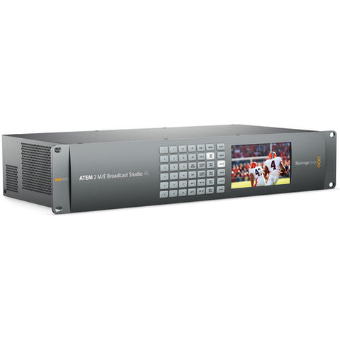 Vision Switcher - Blackmagic ATEM 2 M/E Broadcast Studio 4K - Vizcom Technologies - 1