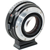 Adapter - Metabones Nikon G to Emount Speed Booster ULTRA 0.71x (Black Matt) (MB_SPNFG-E-BM2) - Vizcom Technologies - 3