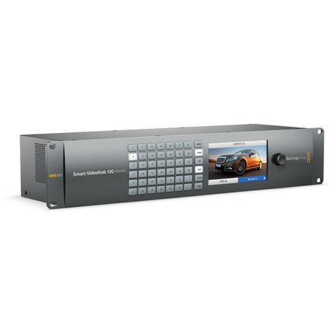 Routing and Distribution - Blackmagic Smart Videohub 12G 40x40 - Vizcom Technologies