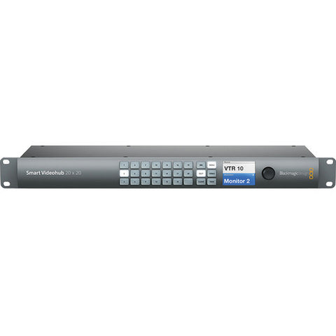 Routing and Distribution - Blackmagic Design Smart Videohub 20 x 20 6G-SDI - Vizcom Technologies - 1