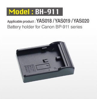 Cineroid Accessory - Cineroid Battery holder for Canon BP-911 batteries - Vizcom Technologies
