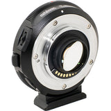 Adapter - Metabones Speed Booster Adapter - Canon EF to Micro FourThirds Speed Booster SE (Black Matt) fit for OMD - Vizcom Technologies - 5