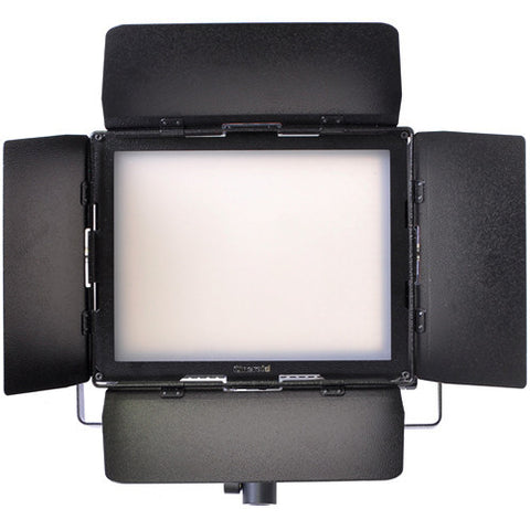 Lighting - Cineroid LM800 LED Light Kit (inc Light, Barn Door, Yoke, Diffuser, Carry Bag & AC Adapter) - Vizcom Technologies - 1