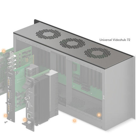 Spare Parts - Fan - Blackmagic Universal Videohub 72 - Vizcom Technologies
