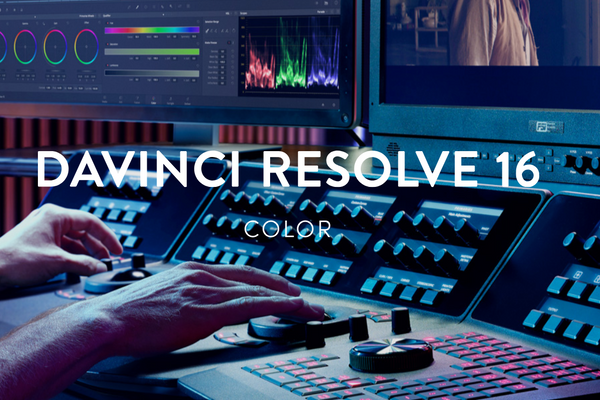 DaVinci Resolve Software Studio (Version 16 Beta) - Mac and Windows