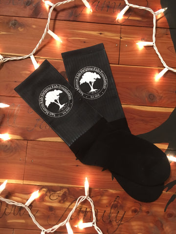 Crew Socks-Black