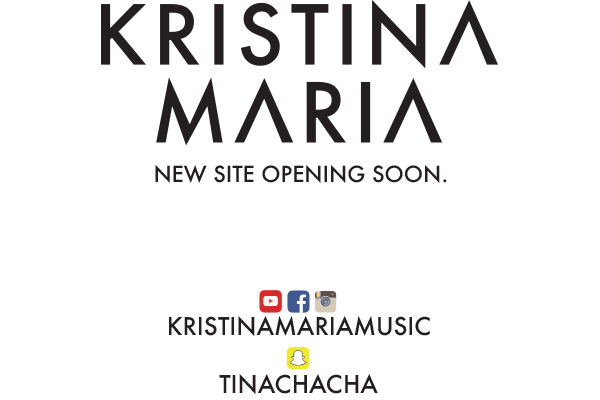 KRISTINA MARIA | OFFICIAL SITE