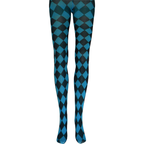 Jester Tights in Turquoise