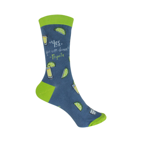 Tequila Crew Socks in Blue