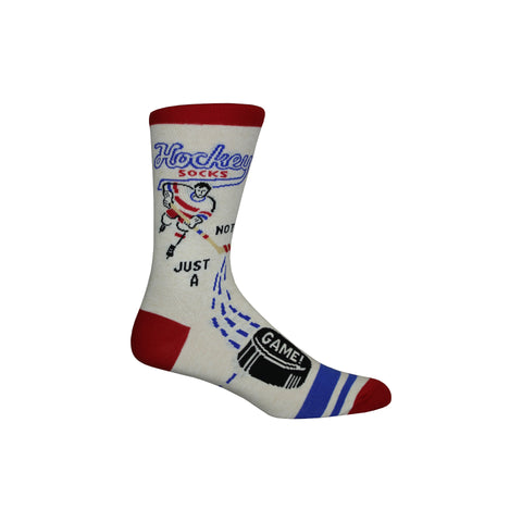 Hockey Crew Socks in White