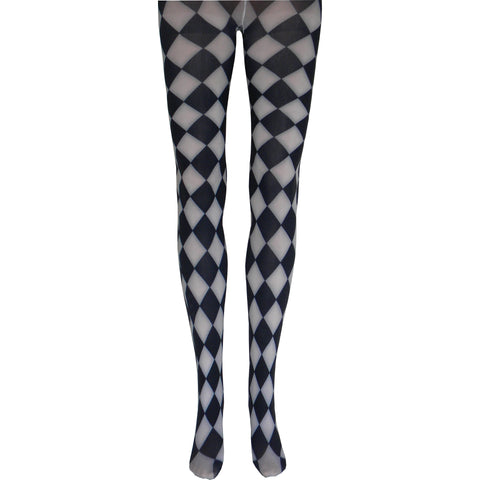 Jester Tights in White