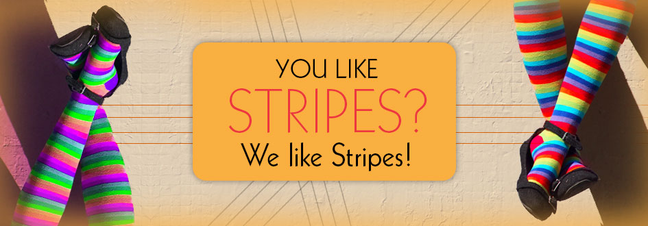 You like stripes? We like Stripes!