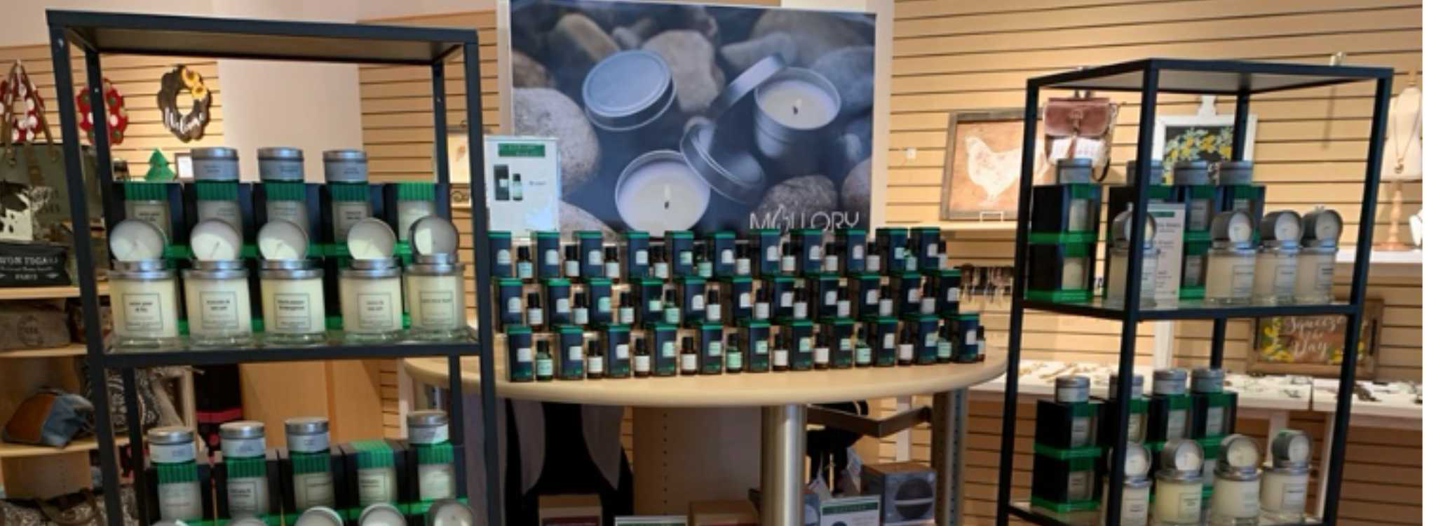 Mallory Candle Co Pop Up Store in Birkdale Village