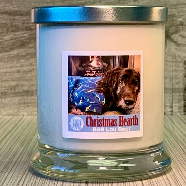 Lou  Bear's Christmas Hearth