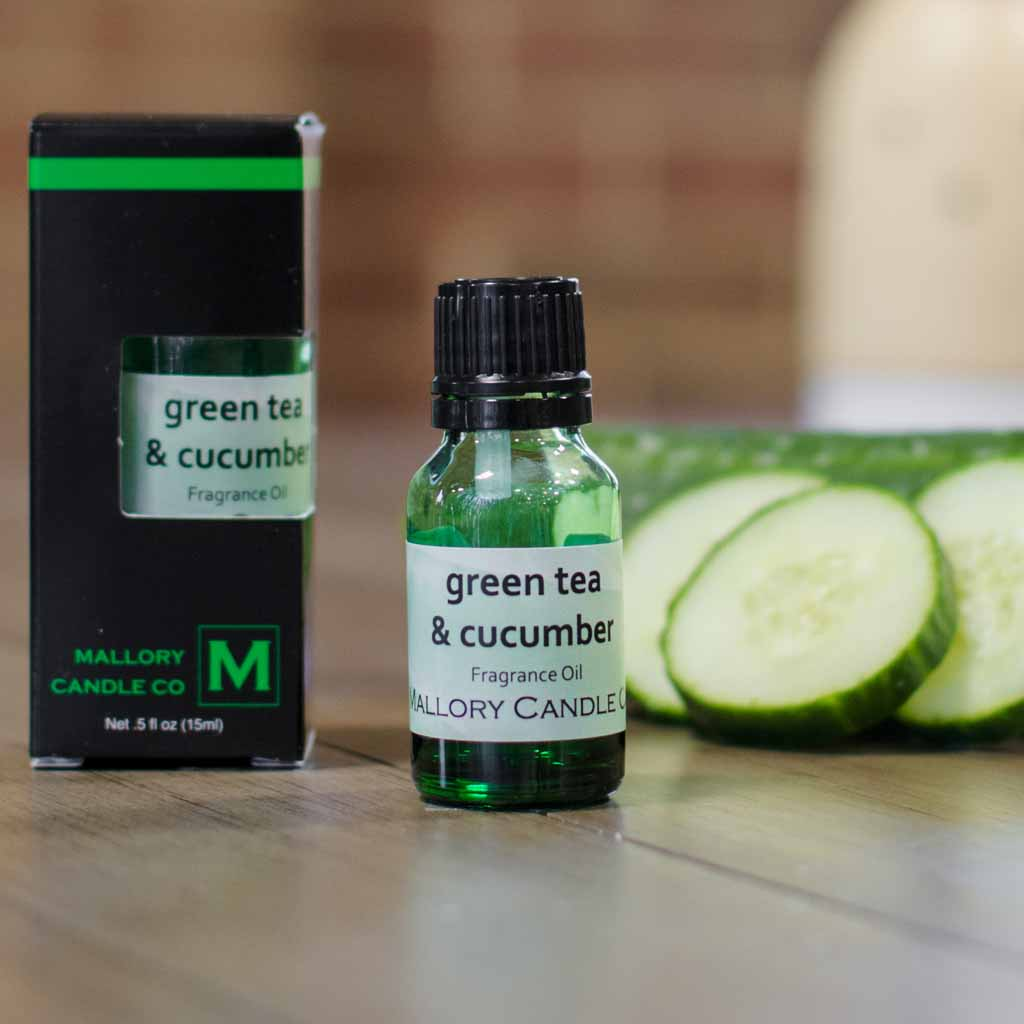 Green Tea & Cucumber Diffuser Oil